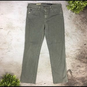 "AG jeans ""Edie"" mid rise jeans size 28"